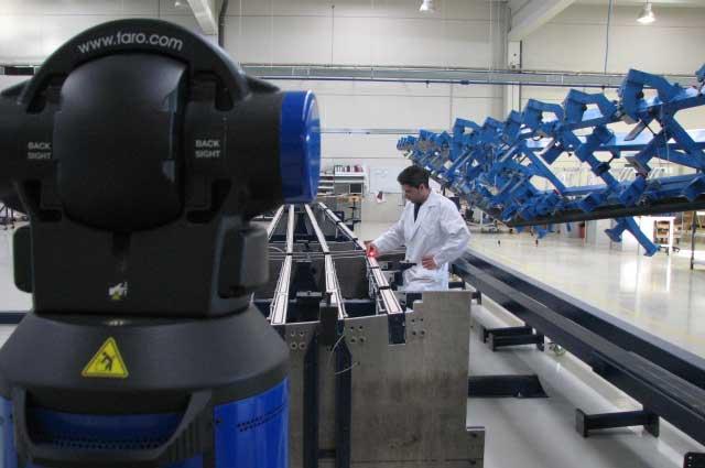 Medición laser-tracker